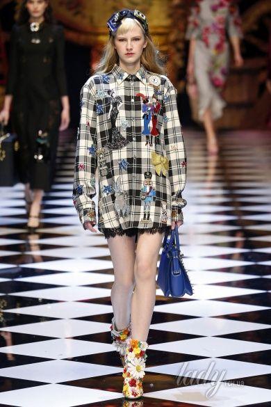 Коллекция Dolce & Gabbana прет-а-порте сезона осень-зима 2016-2017_41