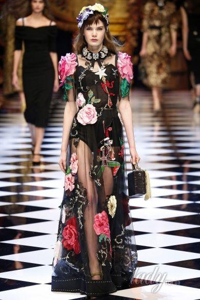 Коллекция Dolce & Gabbana прет-а-порте сезона осень-зима 2016-2017_59
