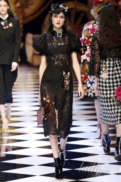 Коллекция Dolce & Gabbana прет-а-порте сезона осень-зима 2016-2017_70