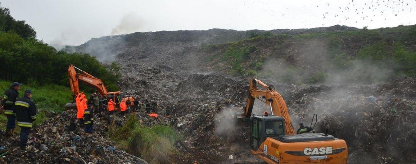 На Грибовицькому сміттєзвалищі відновили пошуки еколога