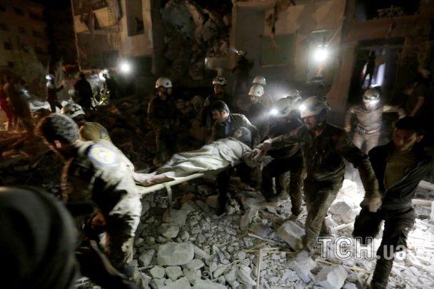 Внаслідок російських авіаударів у Сирії загинули більше 20 осіб – ЗМІ