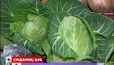 В Україні падають ціни на овочі