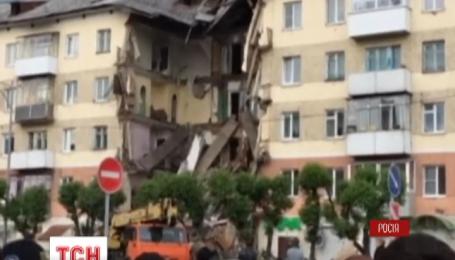 В России в результате обвала жилого дома погибли люди