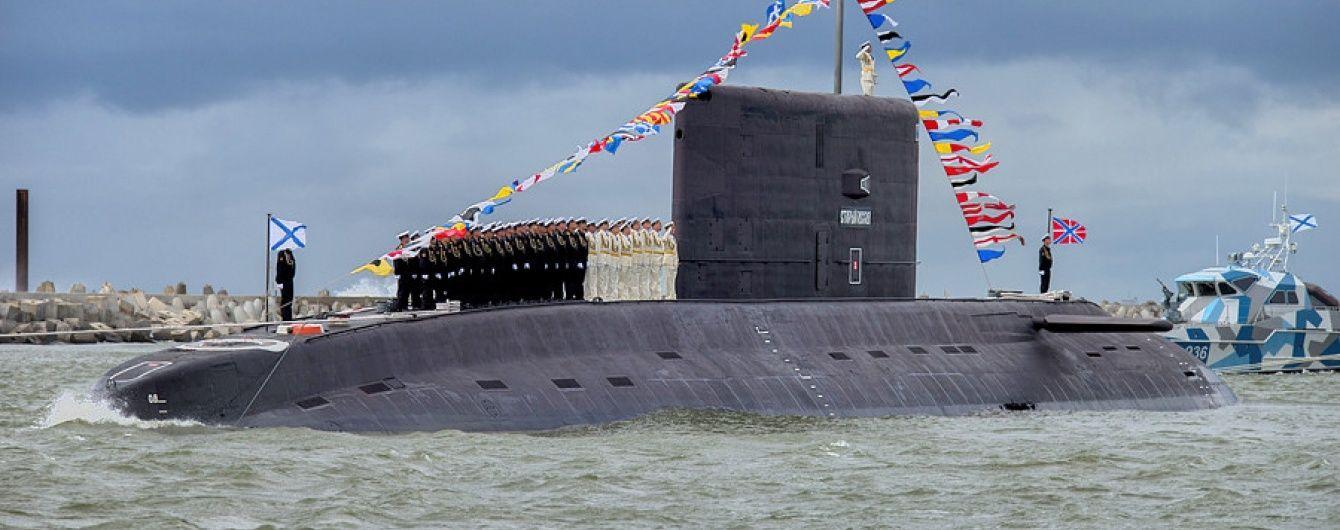 """""""Чорна діра"""": Російський малошумний підводний човен вирушив в окупований Крим"""
