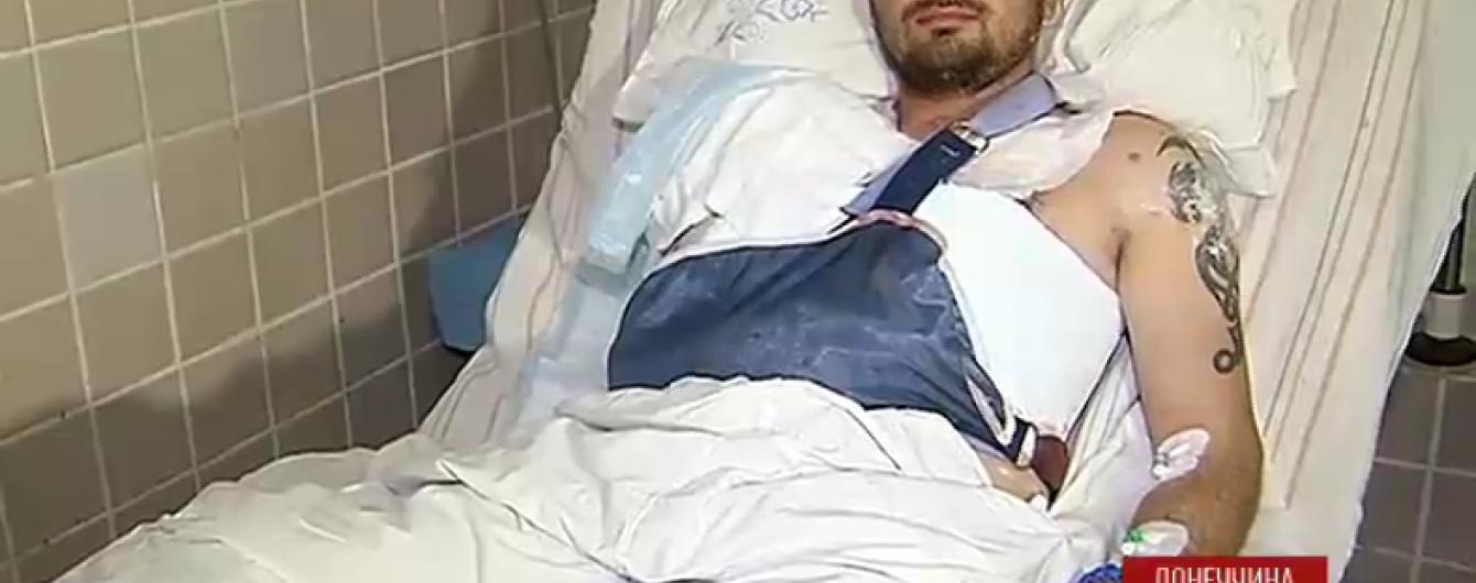 Військові в реанімації розповіли, як дістали поранення під Авдіївкою