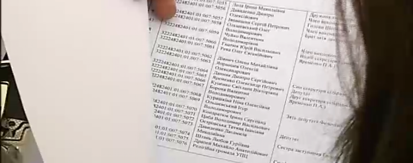 На Київщині місцеві депутати розділили землі АТОвців між собою