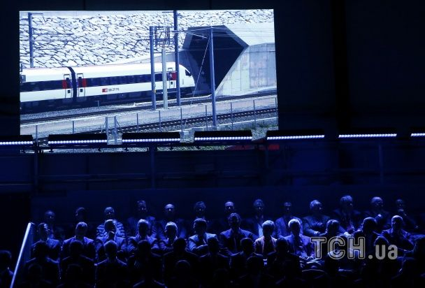 Найдовший тунель у світі: як у Швейцарії пройшла урочиста церемонія відкриття