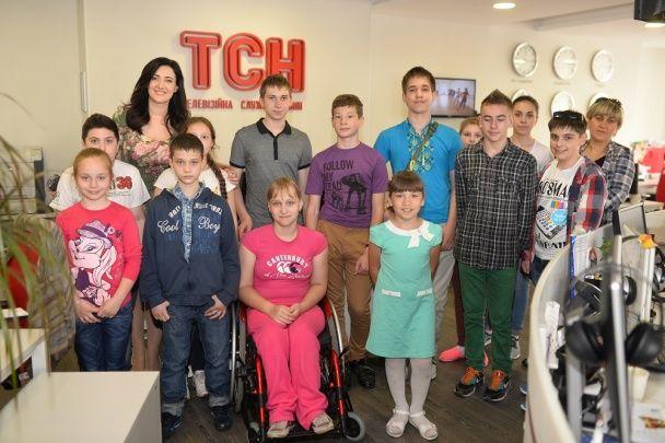 Вітвіцька показала дітям, як працює сучасне телебачення