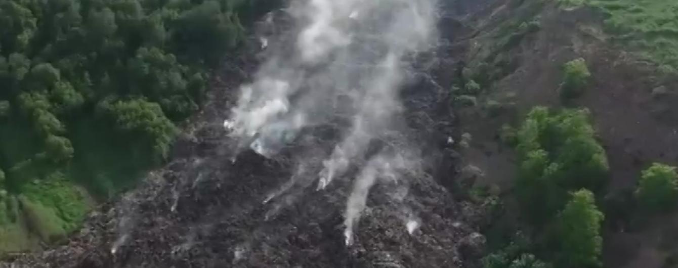 Грибовицьке сміттєзвалище на Львівщині закриють