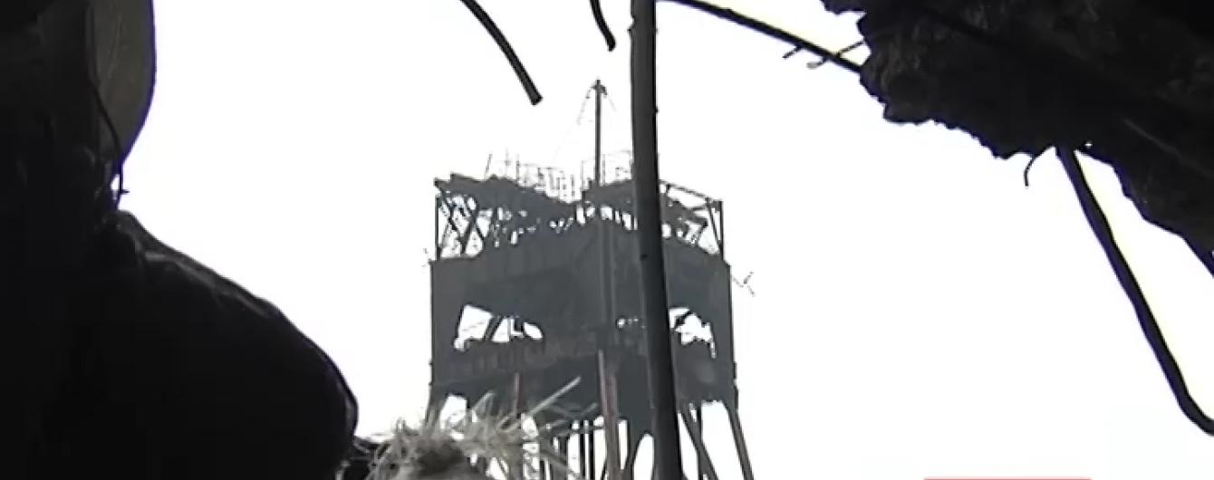 Оборонці шахти Бутівка підняли український прапор на околиці Донецька