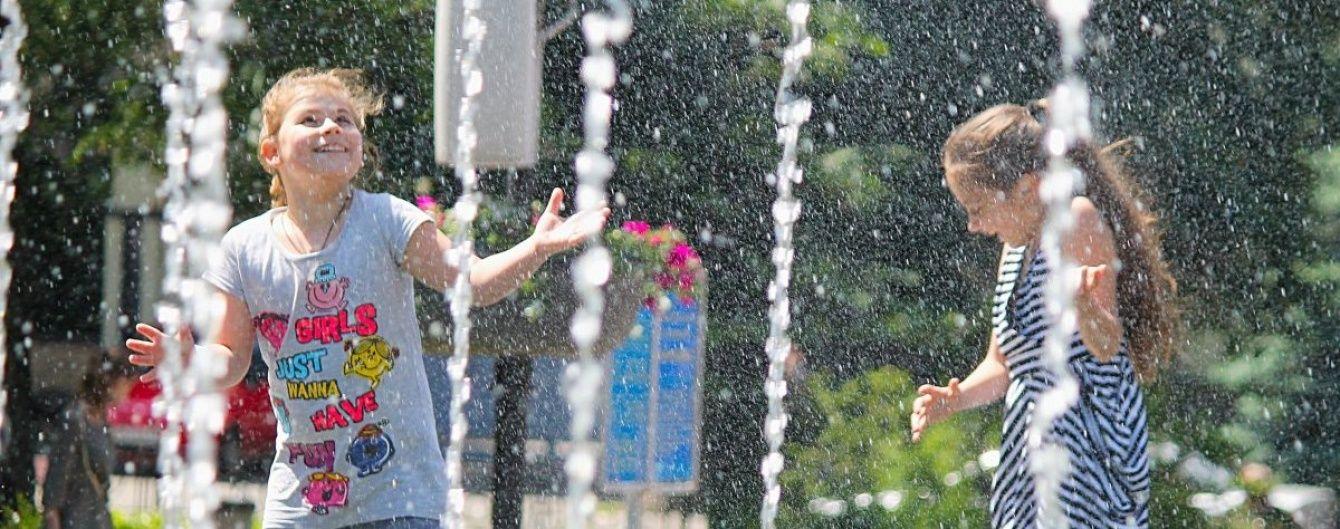 На більшій території Україні припиняться дощі й буде сонячно