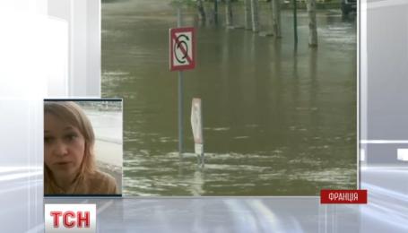 Францию парализовало мощное наводнение