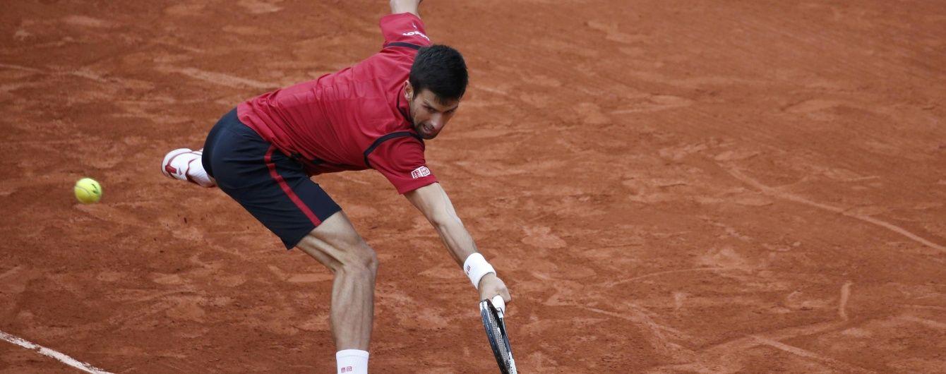 Неймовірний Джокович пробився до півфіналу Roland Garros