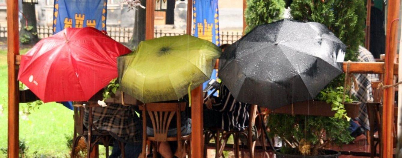 Синоптики спрогнозували дощову суботу у більшості областей України
