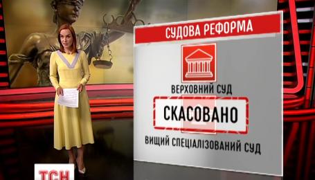 Верховна Рада ухвалила новий закон про статус суддів та судочинство