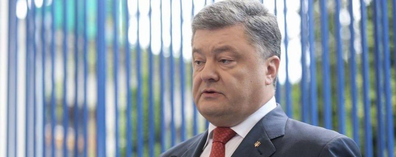 Порошенко розповів, скільки кораблів втратила Україна через окупацію Криму Росією
