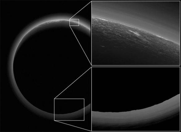 NАSА представило «сумеречную зону» Плутона