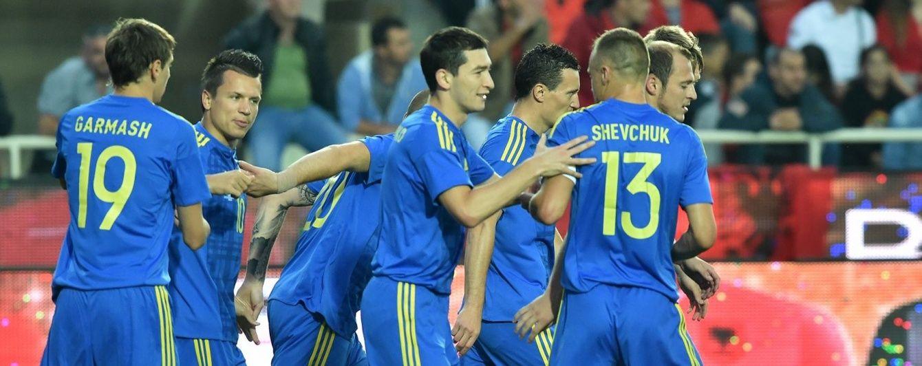 Вікторія перед Євро-2016: як Україна розправилася з Албанією