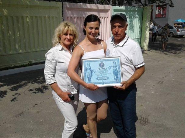 Новий рекорд. Українка виконала на будмайданчику акробатичний номер без страховки
