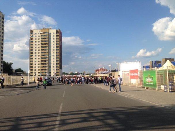 """Фаєри, заповнений стадіон та шалені емоції: """"Океан Ельзи"""" дає концерт у Харкові"""