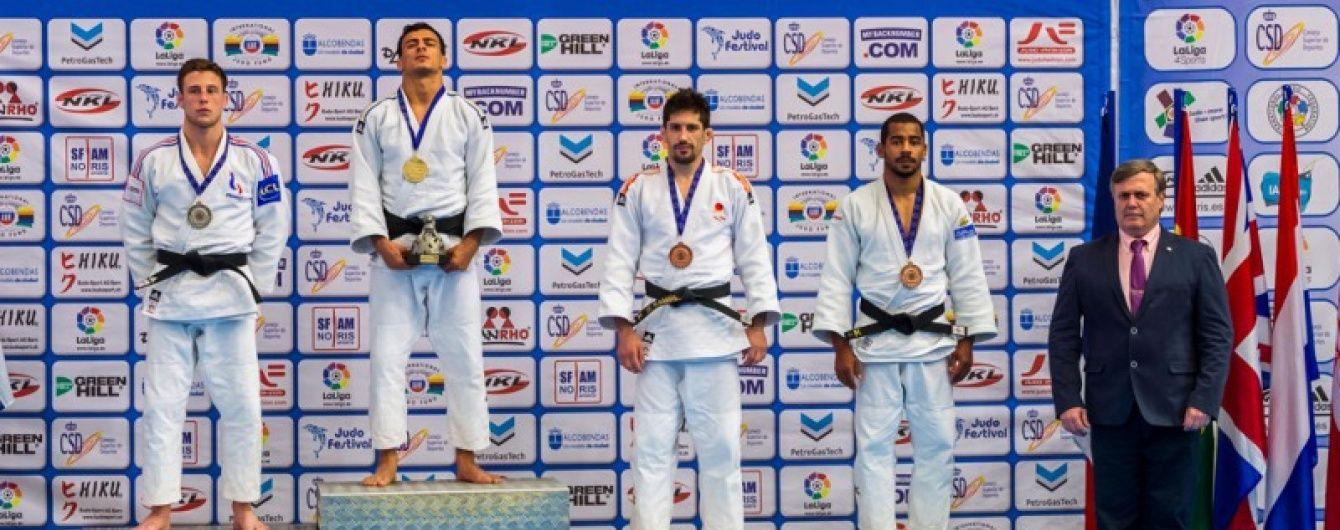 Український дзюдоїст виграв Відкритий континентальний Кубок у Мадриді
