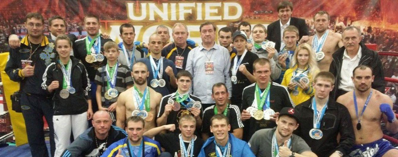 Українські кікбоксери вибороли 16 нагород на кубку світу в Італії