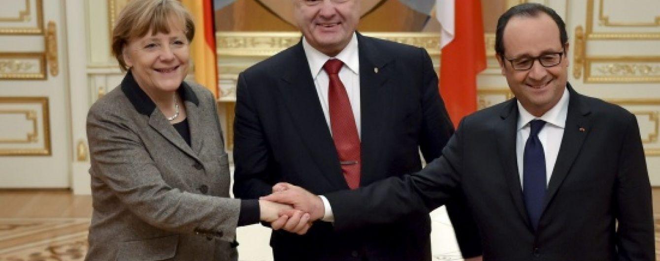 Санкції проти РФ мають діяти до виконання Мінських домовленостей - європейські лідери