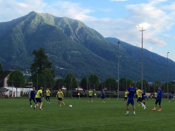 Зустрічай, Франціє! Як українські футболісти потренувалися перед від'їздом на Євро-2016