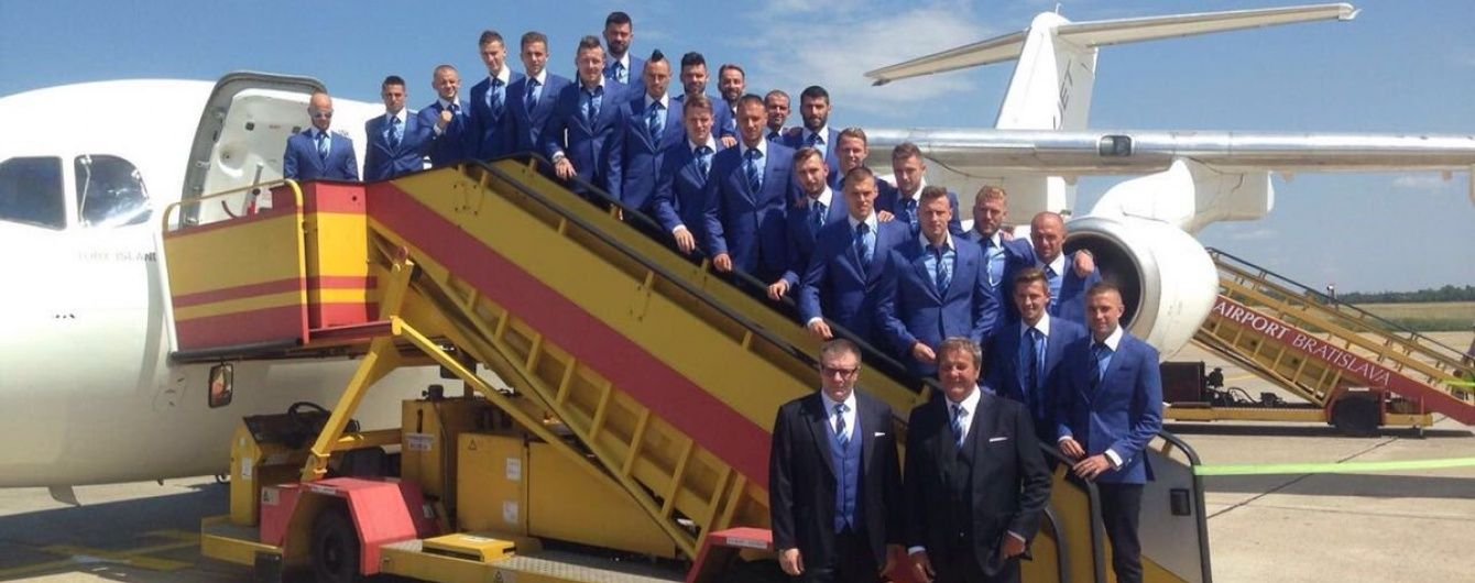 Збірна Словаччини із пригодами дісталася на Євро-2016
