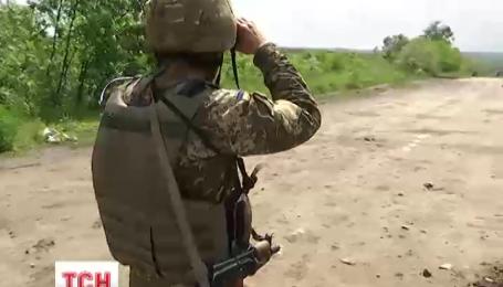 Боевики ночью активизировали огонь на Светлодарской дуге