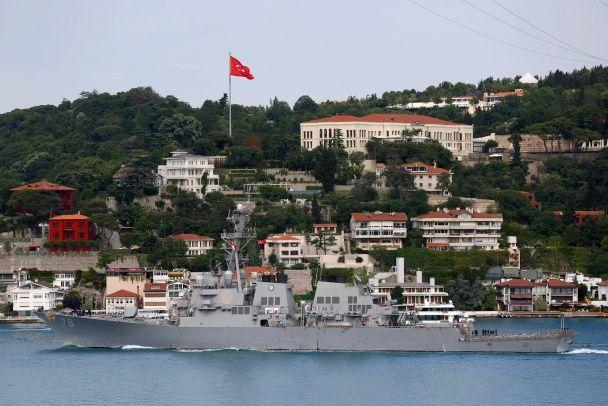 Американський есмінець Porter увійшов до Чорного моря