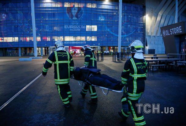 У Франції імітували атаку терористів на матчі Євро між Україною та Північною Ірландією