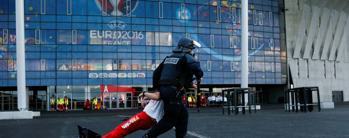 Двох українських уболівальників затримано у Франції за участь у бійці