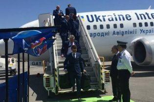 Збірна України прибула на Євро-2016