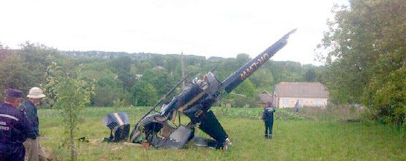 На Хмельниччині розбився гелікоптер