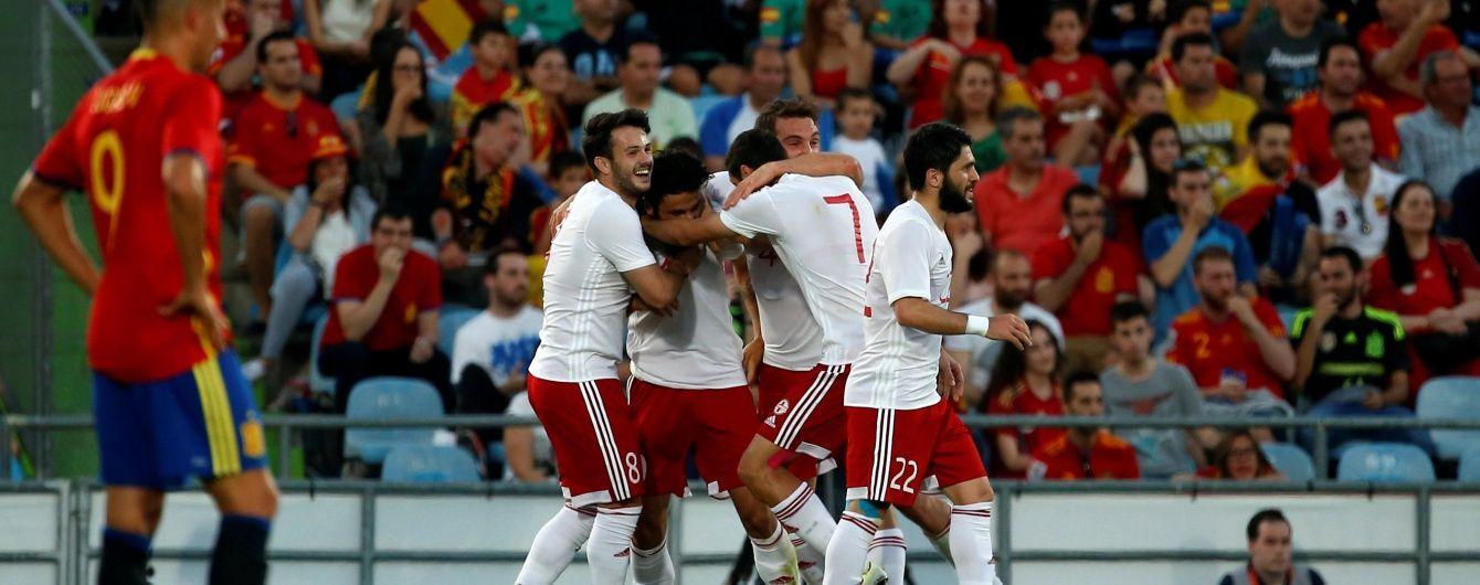 Грузія сенсаційно обіграла збірну Іспанії перед Євро-2016
