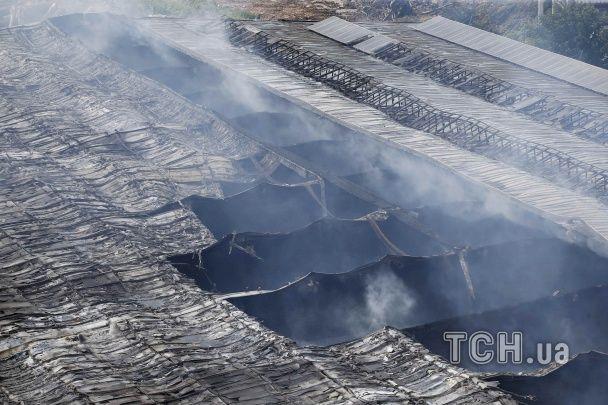 У Німеччині велика пожежа знищила центр для розміщення мігрантів