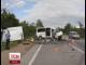 На трасі Київ-Чоп сталася аварія мікроавтобуса та фури