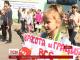 У Дніпрі біля мерії протестували гімнастки