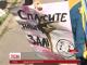У Дніпрі юні гімнастки влаштували протест перед міськрадою