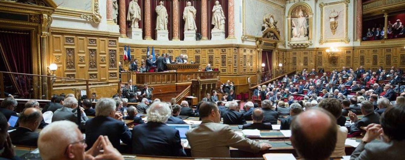 Французький Сенат звернувся до уряду з проханням пом'якшити санкції проти РФ