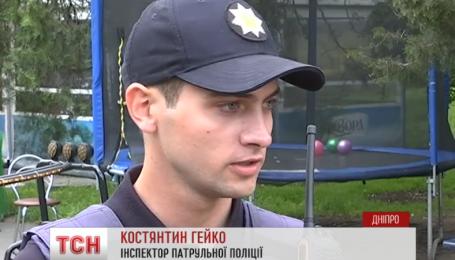 Выясняют причины аварии в детском парке Днепра