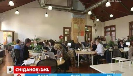 В Украине появляются офисы-коворкинги