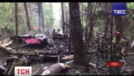 В Московской области разбился истребитель Су-27