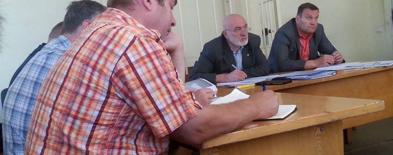 Екс-беркутівці, яких звинувачують у розгоні Євромайдану в листопаді 2013, з'явилися до суду