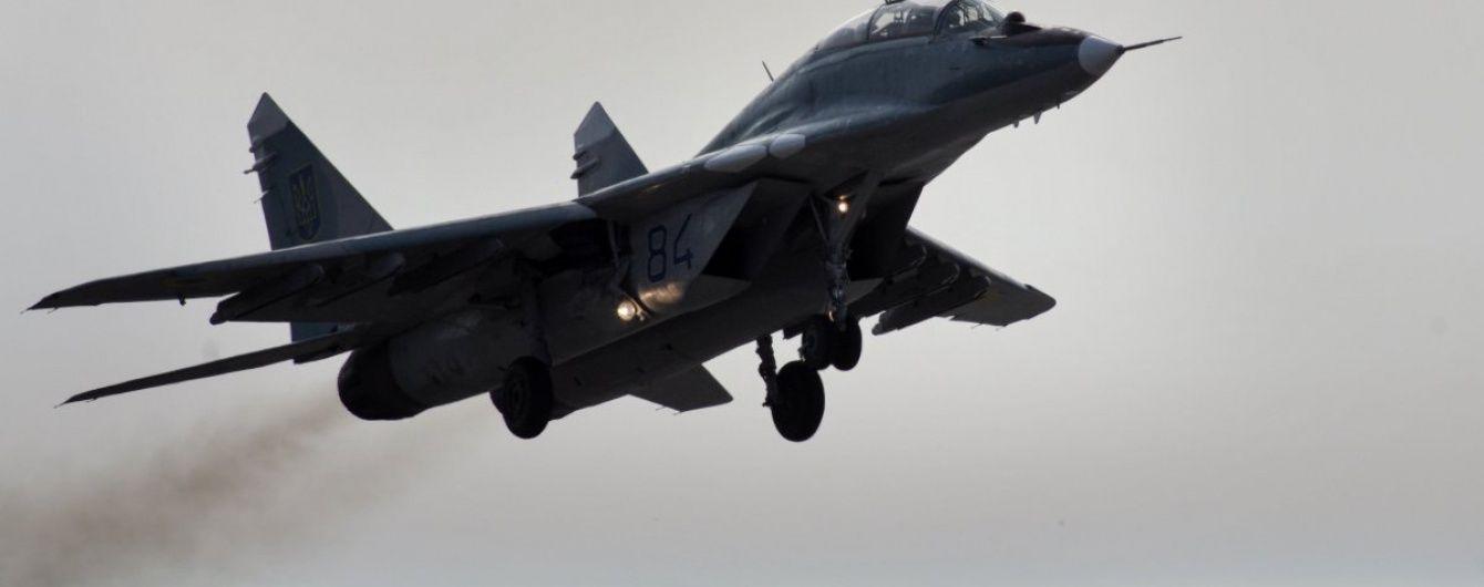 У Міноборони РФ підтвердили аварію МіГ-29 в Середземному морі