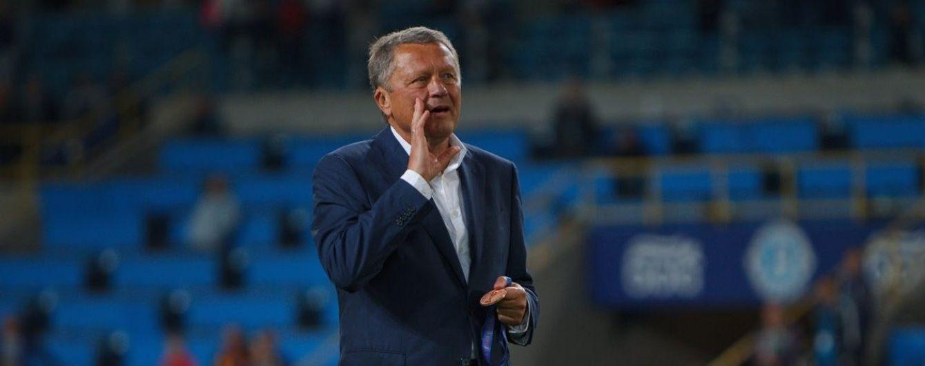 Маркевич считает, что для сборной Украины основные матчи будут против Хорватии