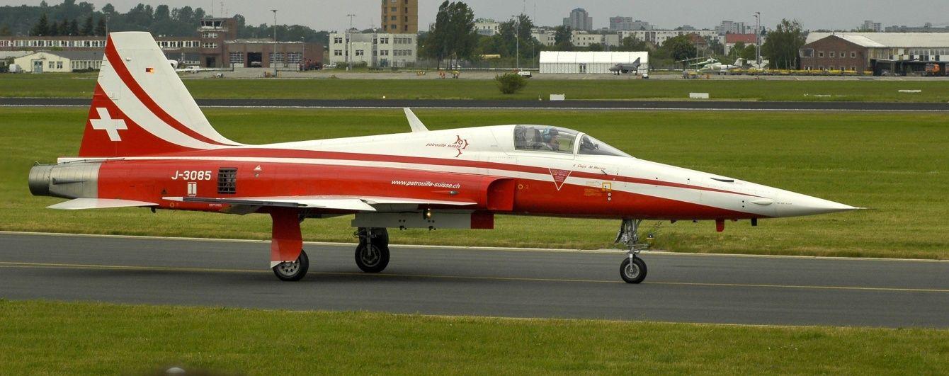 В Нідерландах розбився винищувач F-5