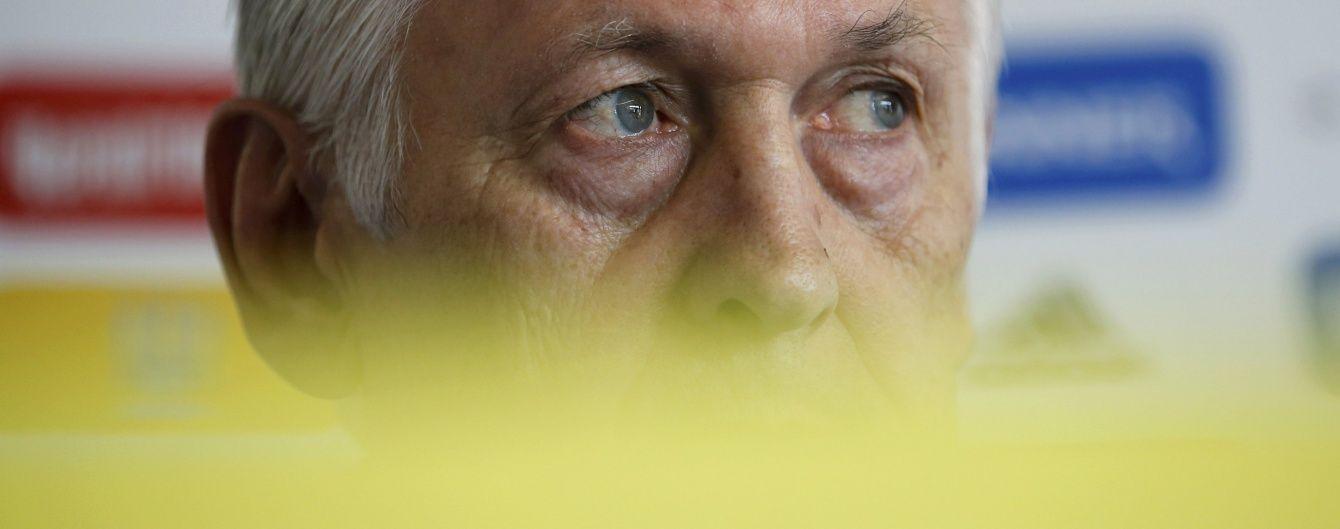 Фоменко запевнив, що збірна провалила Євро-2016 без жодного зовнішнього тиску