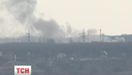 Позиции украинских защитников обстреляли из 122 и 152 калибра
